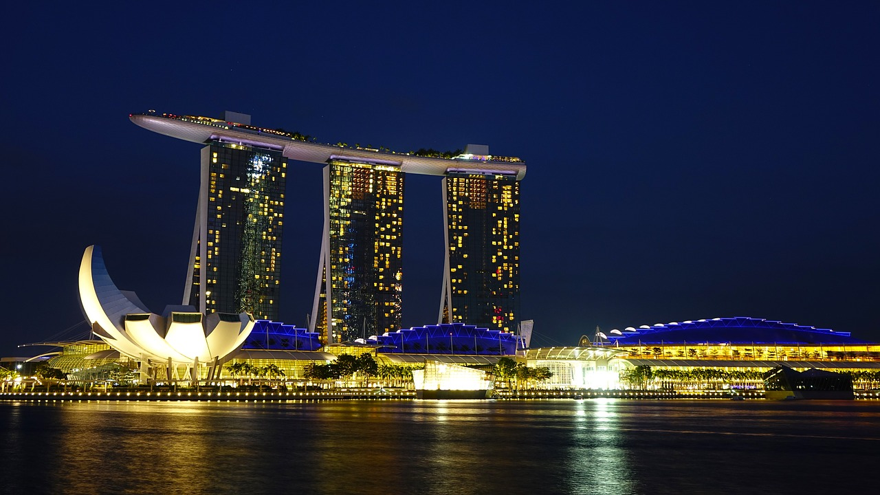 Marina Sand Bay, Singapore