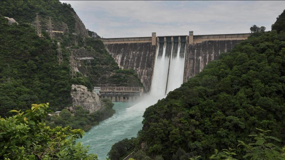 Bhakra Nangal Largest Dam of India