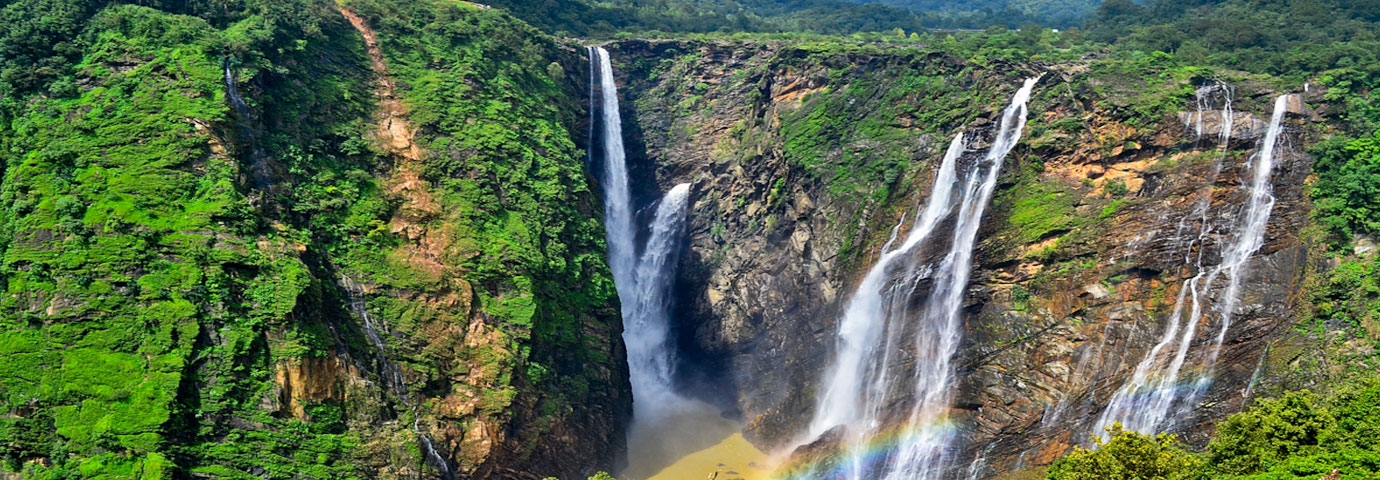 highest waterfalls in India Joga Fall